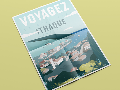 Poster Ithaque
