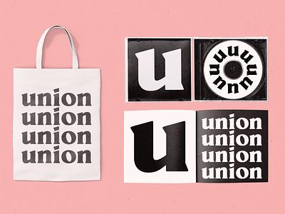 Union Branding concept using our Millik Font branding illustration typography typeface type design type serif font new font fonts font design display serif display font shoots font simple designs logo designs