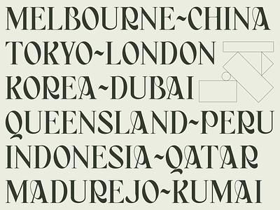 BAGERICH FONT elegant typogaphy lettering illustration poster typeface design type font design vector modern simple designs font minimalist clever logo designs simple flat logo