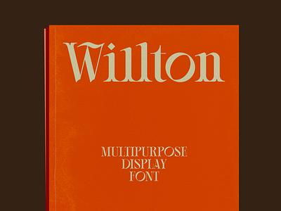 Willton Multipurpose Display Font clever lettering minimalist logo designs display font flat typedesign wordmark brand design branding typo typeface design typeface font
