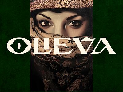 OLIEVA - MULTIPURPOSE DISPLAY FONT illustration typeface lettering display font branding minimalist modern logo designs logo font