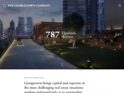 The Georgetown Company- Website design