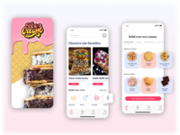 Ice Cream Sandwich Shop | Concept App 🍦
