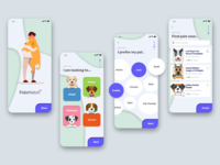 Dog Adoption Onboarding Process | Concept App 🐾