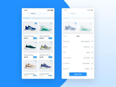 E-Commerce App (Search&Filter)