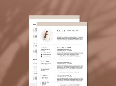 Word Resume & CV