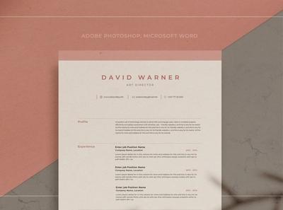 Resume/CV - David