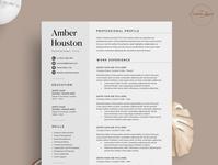 Resume/CV - The Amber