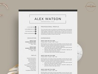 Resume/CV - The Alex