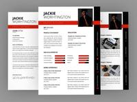 Jackie Graphic Resume Designer