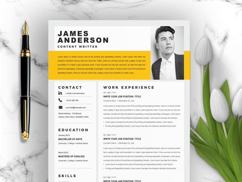 Creative | Modern Resume Template