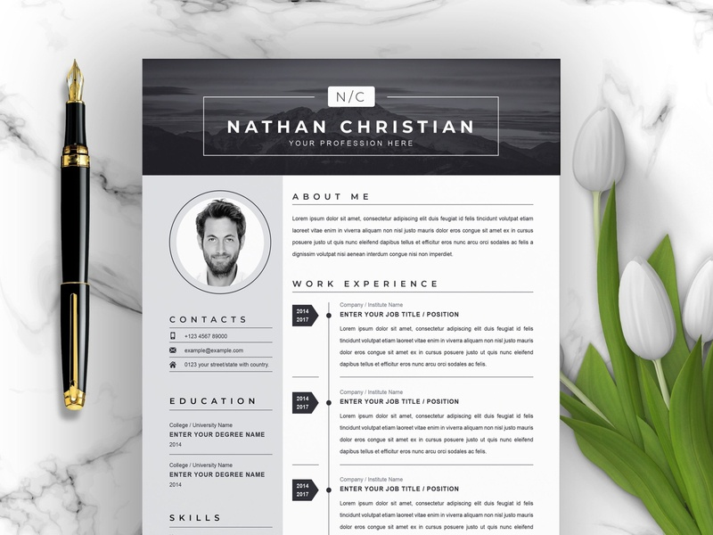 Modern & Creative Resume/CV Template