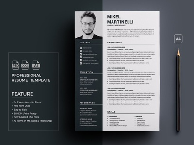 Curriculum Vitae Designs Themes Templates And Downloadable Graphic Elements On Dribbble