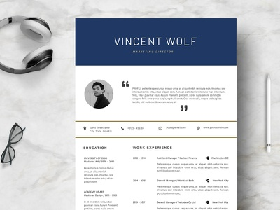 Clean 4 Pages Resume Template free download clean curriculum vitae template clean resume creative resume professional modern resume cv template modern resume resume template