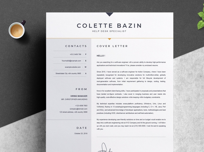 Resume Template download mockup free download curriculum vitae template clean resume creative resume professional modern resume cv template modern resume resume template
