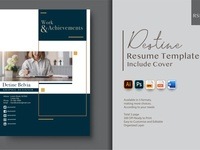 Resume Template - Graphic Designer graphicdesign cv curriculum vitae template clean resume creative resume professional modern resume cv template modern resume resume template