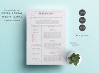 Resume Template 3 Page | CV Template free download curriculum vitae template clean resume creative resume professional modern resume cv template modern resume resume template