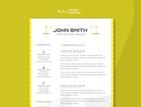 Construction TwoPage Resume Template free download construction curriculum vitae template clean resume creative resume professional modern resume cv template modern resume resume template