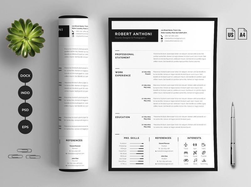 Minimalist Resume|Cover Letter free download resume cv minimalist curriculum vitae template clean resume creative resume professional modern resume cv template modern resume resume template
