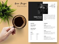 Modern Resume CV Template for Word & Pages word resume cv free download cv curriculum vitae template clean resume creative resume professional modern resume cv template modern resume resume template