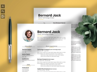 Resume and Cover Letter Template minimal resume psd template psd job resumes job resume job template clean resume creative resume professional modern modern resume cover letter template cover letter cv design cv template cv resume design resume template resume
