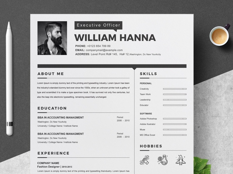 Resume Template free download templates resume cv minimal resume cv curriculum vitae template clean resume creative resume professional modern resume cv template modern resume resume template