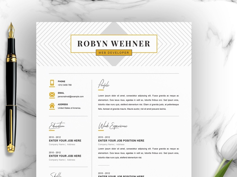 Creative Resume Template Instant Download instantdownload templates creative minimal resume curriculum vitae template clean resume creative resume professional modern resume cv template modern resume resume template