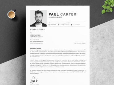 Resume Template | Download for Word word free download resume cv cv curriculum vitae template clean resume creative resume professional modern resume cv template modern resume resume template