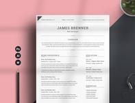 Resume/CV Word free download word minimal resume curriculum vitae template clean resume creative resume professional modern resume cv template modern resume resume template