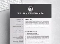 Resume / CV Template free download resume cv minimal resume curriculum vitae template clean resume creative resume professional modern resume cv template modern resume resume template