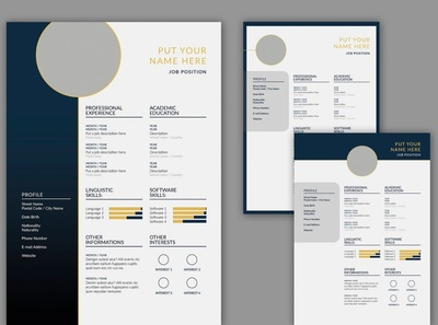 CV Resume Layout Set free download resume design curriculum vitae template clean resume creative resume professional modern cv template modern resume resume template resume