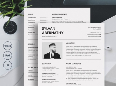 Minimalist Resume Template Word free download minimalist curriculum vitae template clean resume creative resume professional modern resume cv template modern resume resume template