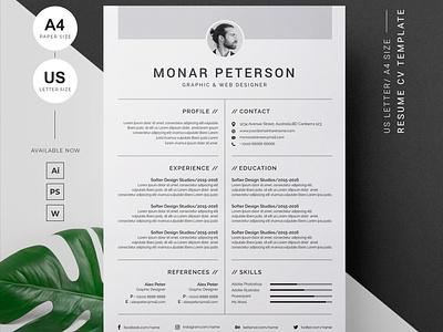 Resume/CV resume design free download curriculum vitae template professional resume clean resume creative resume professional modern resume cv template modern resume resume template