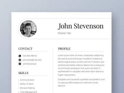 Professional Resume Template CV free download professional resume professional logo cv curriculum vitae template clean resume creative resume professional modern resume cv template modern resume resume template