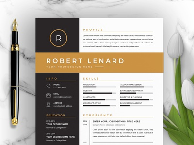 Word Resume / CV & Cover Letter Template download mockup templates letter cover free download curriculum vitae template clean resume creative resume professional modern resume cv template modern resume resume template