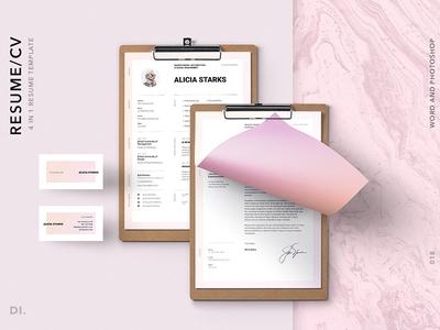 BRONX Resume/CV Template