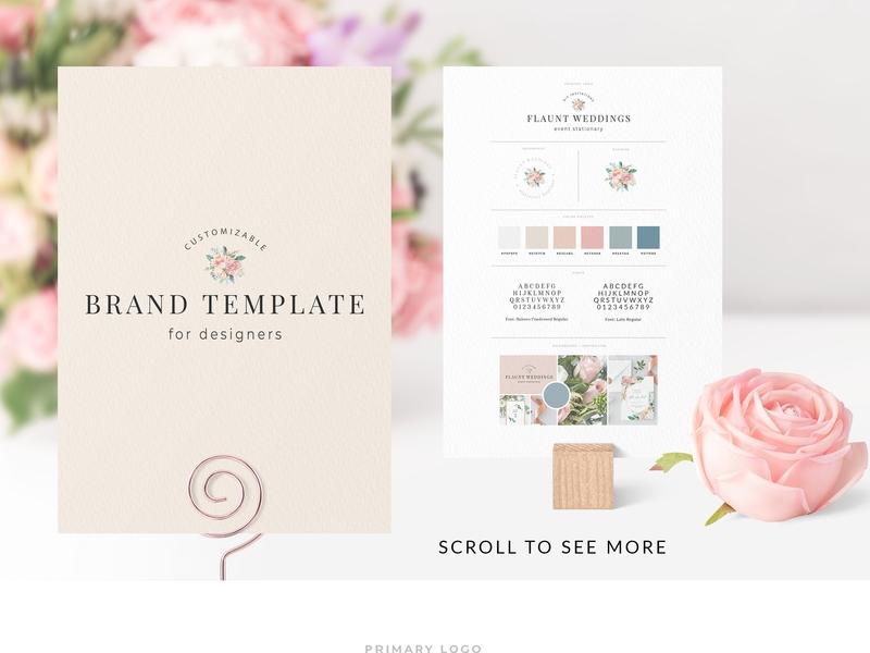 Customizable Brand Template Pack flower doc a4 professional modern creative resume resume cv template modern resume resume template cv