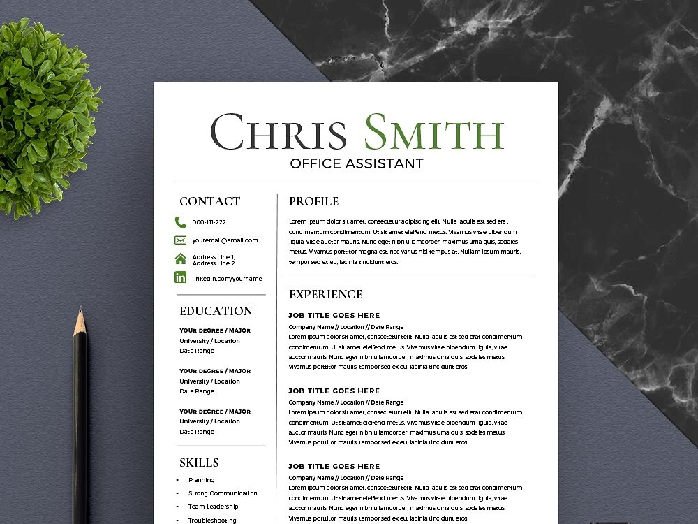 trending resume template new by resume templates dribbble dribbble
