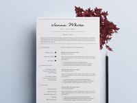 Professional Resume / Elegant CV-7