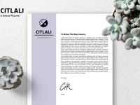 Citlali - Customizable Résumé