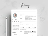Resume Template 3 Pages/CV