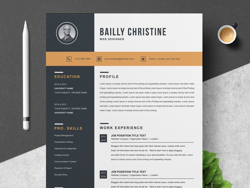 resume template by resume templates