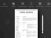 Creative CV Template 3 Pages
