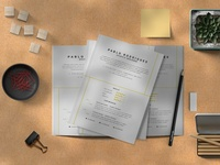Creative CV-Resume Template