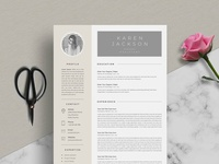 Resume Template 5 Page | CV Template