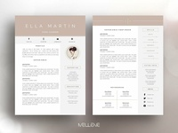 CV / Resume template - Ella