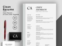 Elegant Resume/CV