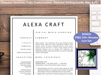 Resume Templates - 3 Page Version