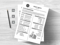 Simple Creative Cv Template Preview 08
