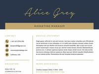 Resume Template/CV Template